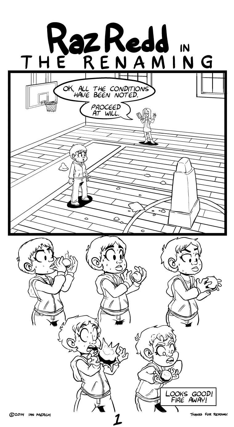 Oh right she's in school for magic. I don't remember if that came up in the last comic but it's kind of important