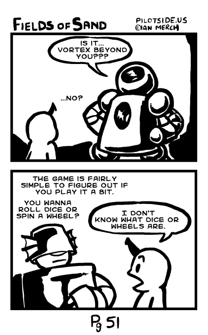 is it more robot stuff?