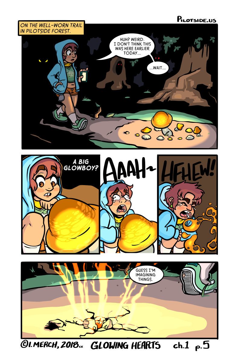 She was! The end. See you tomorrow for a different comic.