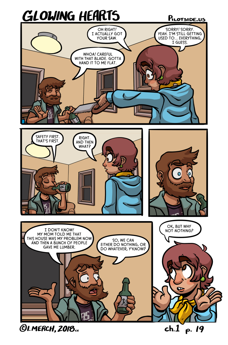 because a comic about you sitting on your bed playing animal crossing for two hundred hours isn't that interesting.