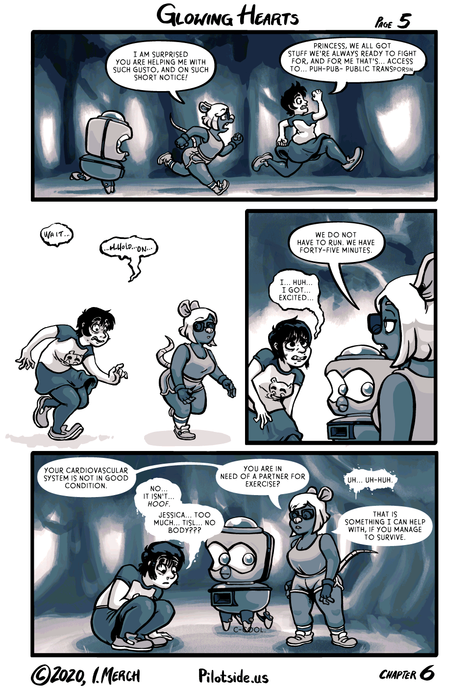Based on SOME personal experience, but not all (my robot is much bigger)